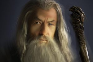 gandalf wizard artwork the lord of the rings