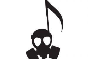 gas masks artwork minimalism
