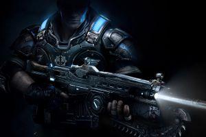 gears of war 4 render video games weapon fantasy weapon gears of war artwork