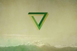 geometry green mountains penrose triangle