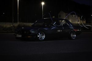 german cars lowered bmw e28 old school wheels stance