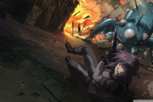 ghost in the shell tachikoma kusanagi motoko anime
