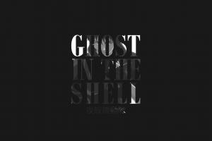 ghost in the shell typography kusanagi motoko
