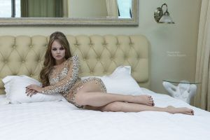 glamour women anastasia scheglova blonde dmitry rapaev in bed glamour women dress in bedroom smoky eyes model