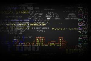 glitch art video games hacking