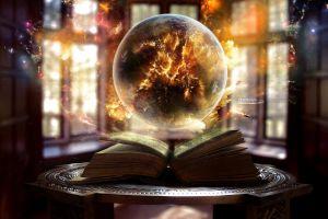 globes digital art galaxy magic table glass books window fantasy art artwork earth