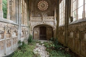 gothic architecture church france abandoned architecture