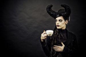 gothic women goths model