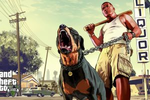 grand theft auto v video game characters rottweiler rockstar games