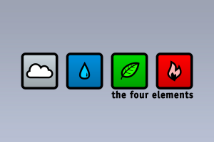 graphic design minimalism four elements