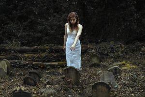 graves women graveyards model hands
