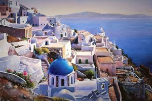 grecia painting traditional art