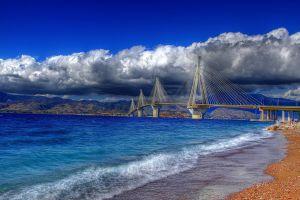 greece hdr landscape