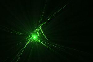 green beam black cgi abstract