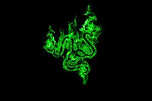 green logo razer