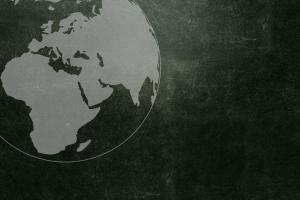 grunge globes africa earth
