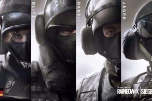 gsg 9 collage special forces tom clancy's video games ubisoft rainbow six: siege pc gaming german army rainbow six