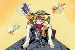 guitar anime flcl