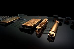 guitar electric guitar closeup