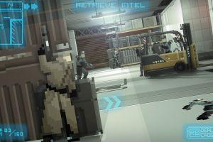 gunpoint video games pixels