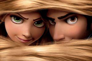 hair   blonde tangled movies animated movies
