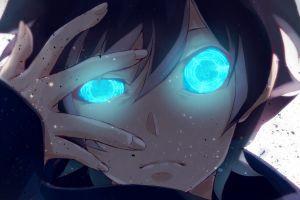 hands anime leonardo watch kekkai sensen blue eyes