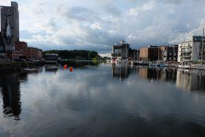 harbor water city