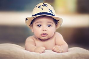 hat baby children