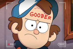 hat gravity falls cartoon