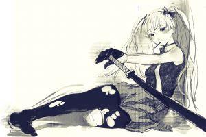 hatsune miku vocaloid artwork anime anime girls