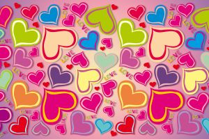 heart heart (design) love colorful artwork