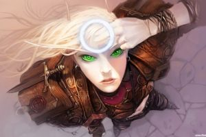 hearthstone: heroes of warcraft artwork women