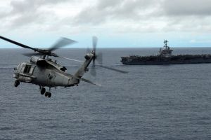 helicopters aircraft carrier military