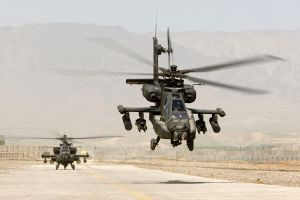 helicopters boeing ah-64 apache desert military aircraft