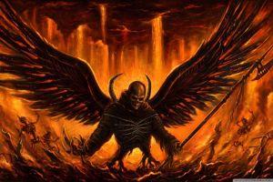 hell wings lucifer satan devil fire