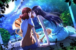 hibike! euphonium swordsouls yuri anime girls kousaka reina oumae kumiko anime hibike! euphonium oumae kumiko kousaka reina
