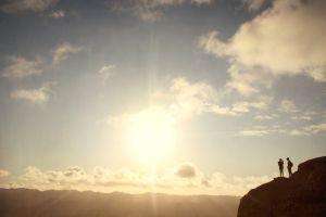 hiking nature landscape mountains photography sun