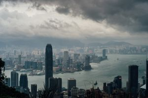 hong kong skyscraper city