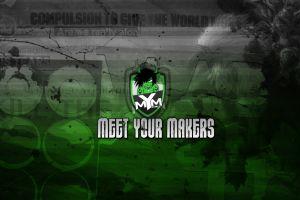 horns meet your makers digital art