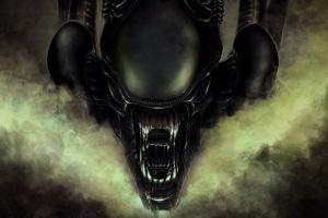 horror creature digital art aliens science fiction xenomorph