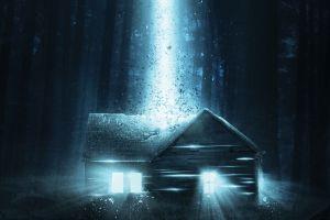 house aliens digital art