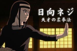 hyuuga neji martial arts naruto shippuuden kung fu anime