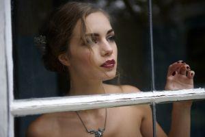 ines eisner women brunette model
