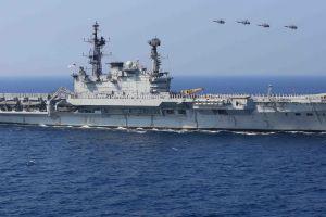 ins viraat indian-navy aircraft carrier warship