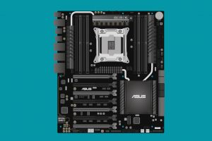 intel motherboards minimalism asus lga 2011-v3