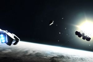 interstellar (movie) science fiction artwork