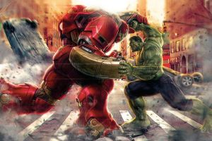 iron man the avengers hulk