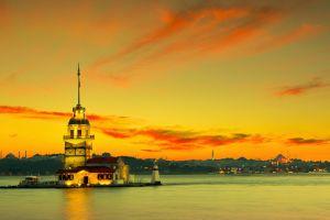 istanbul nature turkey kiz kulesi