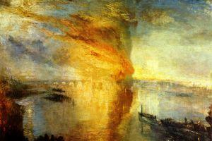 j. m. w. turner classic art painting fire