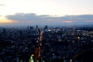 japan tilt shift urban tilt shift tokyo